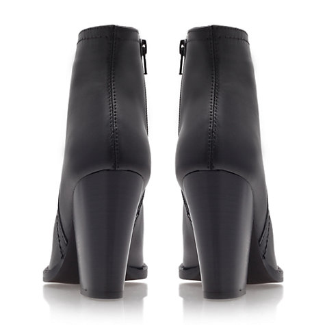 Buy Carvela Smart Ankle Boots, Black Online at johnlewis.com