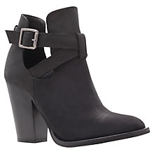 Buy Carvela Shilling Leather Ankle Boots, Black Online at johnlewis.com