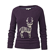 Buy Fat Face Reindeer Jumper Online at johnlewis.com