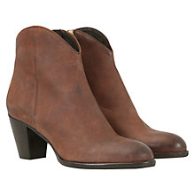 Buy Mint Velvet Nubuck Ankle Boots Online at johnlewis.com