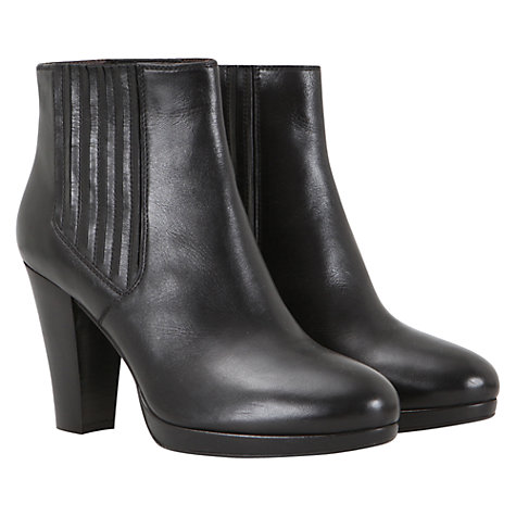 Buy Mint Velvet Point Toe Ankle Boots, Black Online at johnlewis.com
