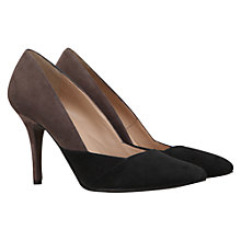 Buy Mint Velvet Suede Kitten Heel Court Shoes Online at johnlewis.com