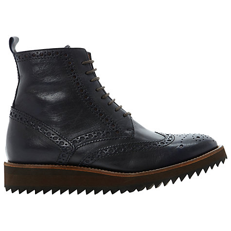 Buy Dune Black Okada Leather Ankle Boots Online at johnlewis.com