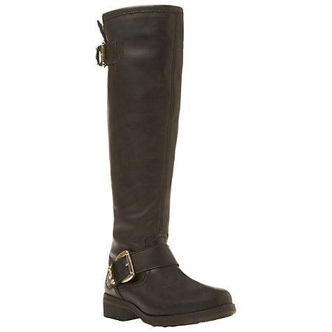 Buy Steve Madden Barton Knee Boots, Black Online at johnlewis.com