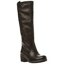 Buy Steve Madden Seester Leather Calf Boots Online at johnlewis.com