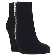 Buy Carvela Sweet Suede Wedge Heel Ankle Boots Online at johnlewis.com