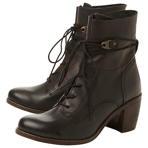 Buy Steve Madden Rambow Leather Ankle Boots Online at johnlewis.com