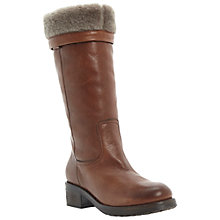 Buy Dune Black Presto Calf Boots, Tan Online at johnlewis.com