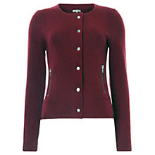 Buy Jigsaw Cashmere Modal Blend Cardigan Online at johnlewis.com