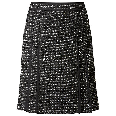 Buy Gérard Darel Tweed Skirt, Black Online at johnlewis.com