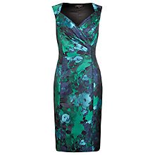 Buy Alexon Floral Jacquard Dress, Multi Online at johnlewis.com