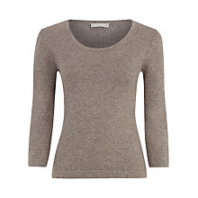 Buy Planet Lurex Knit Jumper, Neutral Online at johnlewis.com
