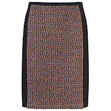 Buy Kaliko Bouclé Panel Skirt, Purple Online at johnlewis.com