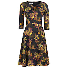 Buy Kaliko Beatrice Print Dress, Purple Online at johnlewis.com
