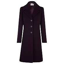 Buy Planet Plum A-Line Coat, Purple Online at johnlewis.com