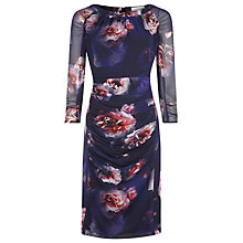 Buy Kaliko Shadow Rose Dress, Multi Online at johnlewis.com