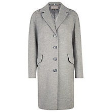 Buy Planet Silver Marl Oversized Wool Coat, Grey Marl Online at johnlewis.com