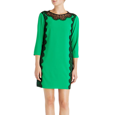 Buy Ted Baker Colour Block Dress, Green Online at johnlewis.com