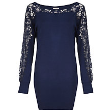 Buy Kaliko Lace Trim Jumper Online at johnlewis.com
