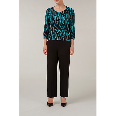 Buy Precis Petite Animal Print Jumper, Multi Online at johnlewis.com