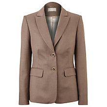 Buy Jacques Vert Tailored Jacket, Brown Online at johnlewis.com