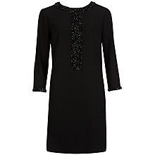 Buy Ted Baker Meysha Panel Detail Dress, Black Online at johnlewis.com