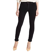 Buy Jaeger Skinny Jeans, Black Online at johnlewis.com