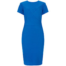Buy Ted Baker Nedeli Textured Bodycon Dress, Blue Online at johnlewis.com