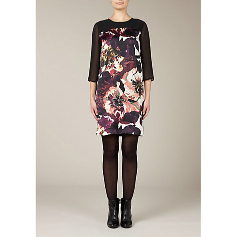 Buy Kaliko Floral Tunic Dress, Multi Online at johnlewis.com