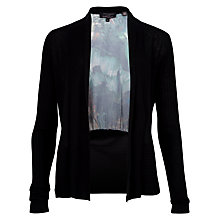 Buy Ted Baker Esmay Wing Wrap Cardigan, Black Online at johnlewis.com