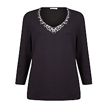 Buy Windsmoor Jewel Neck Top Online at johnlewis.com