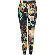 Buy Ted Baker Piceno Retro Square Jogger Trousers, Black Online at johnlewis.com