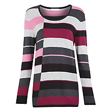 Buy Windsmoor Block Stripe Jumper, Multi Online at johnlewis.com