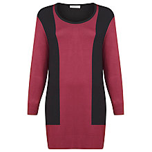 Buy Windsmoor Colour Block Jumper, Magenta Online at johnlewis.com