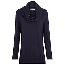 Buy Windsmoor Knitted Snood Jumper, Navy Online at johnlewis.com