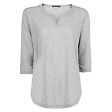 Buy Mango Notch Neck T-Shirt Online at johnlewis.com