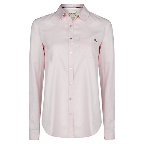 Buy Mango Oxford Shirt Online at johnlewis.com