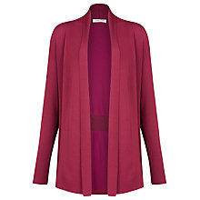 Buy Windsmoor Longline Cardigan, Magenta Online at johnlewis.com