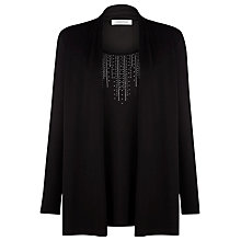 Buy Windsmoor Two In One Sparkle Top, Black Online at johnlewis.com