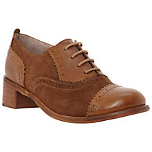 Buy Dune Lanelle Brogue Shoes, Tan Online at johnlewis.com