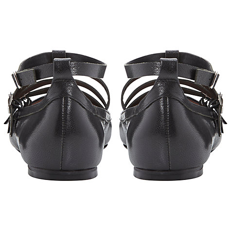 Buy Dune Mathilda Strappy Pump Shoes, Black Online at johnlewis.com