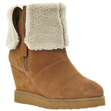 Buy Dune Reach Faux Shearling Calf Boots Online at johnlewis.com