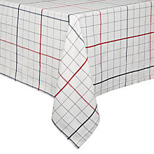 Buy John Lewis Restoration Checked Tablecloth Online at johnlewis.com