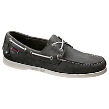 Buy Sebago Dockside Suede Boat Shoes Online at johnlewis.com
