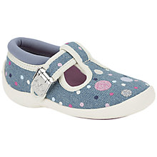 Buy Clarks Girls' Sophia May Shoes, Denim Online at johnlewis.com