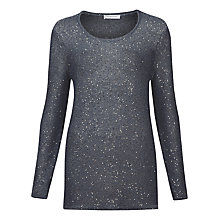 Buy Windsmoor Sequin Jumper, Grey Online at johnlewis.com
