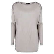 Buy Mango Satin Back T-Shirt Online at johnlewis.com