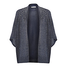 Buy Windsmoor Envelope Sleeve Cardigan, Navy Online at johnlewis.com