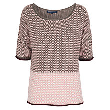 Buy French Connection Prune Knit Jumper Online at johnlewis.com