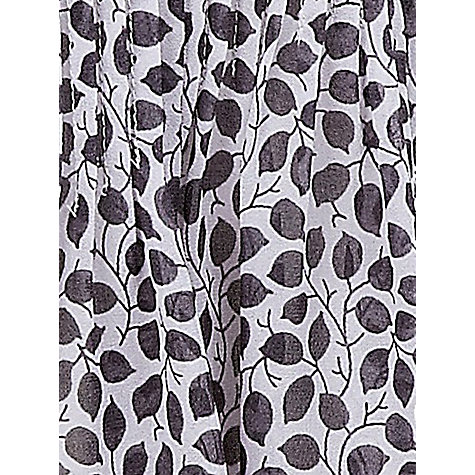 Buy Jacques Vert Leaf Print Overshirt, Grey Online at johnlewis.com